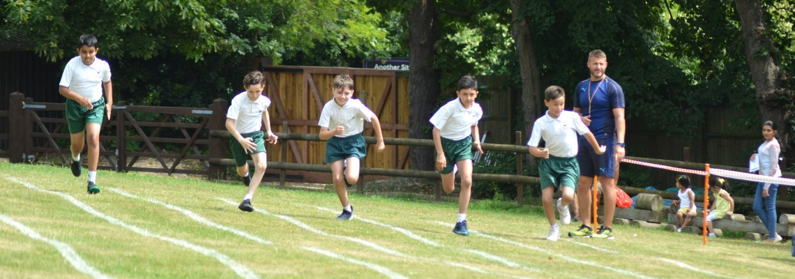Sports day at Oaklands