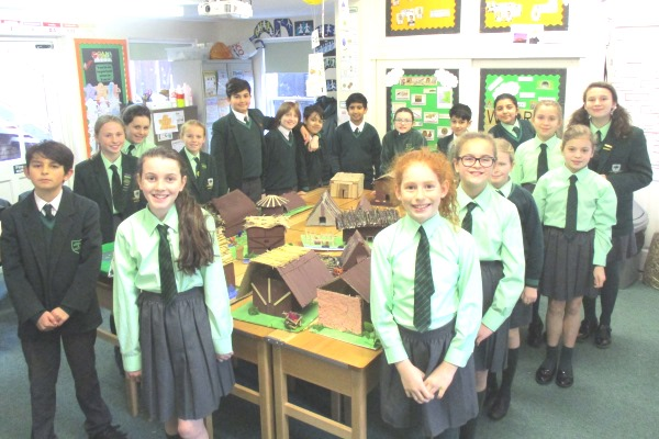 Year 6 Anglo-Saxon Creations   Oaklands School